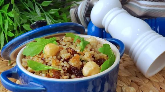 Cazuelita de quinoa y frutos secos