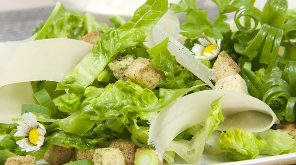 Caesar Salad without anchovies