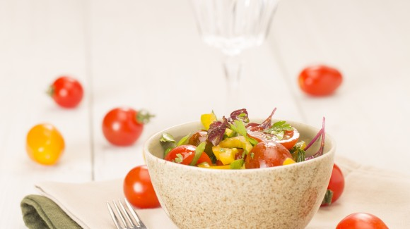 Thai inspired tomato salad