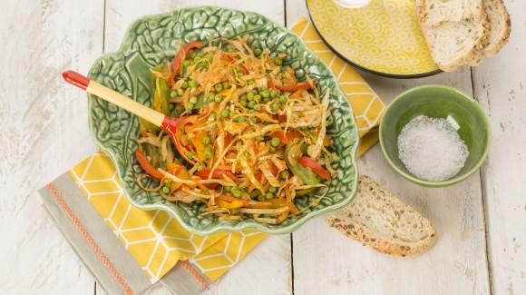 Südafrikanischer Chakalaka-Salat