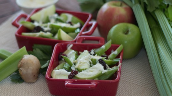 Apple, celery and ginger salad