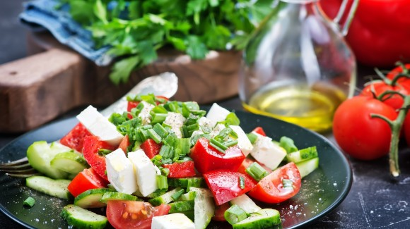 Salade de tomates cocktail