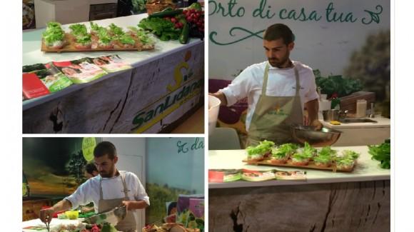 Love my Salad delizia il pubblico di