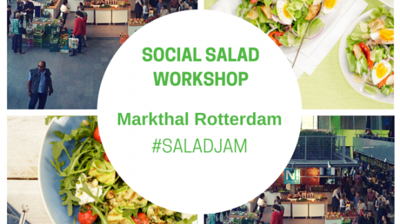 Kom 15 juli naar de Social Salad Workshop in de Markthal
