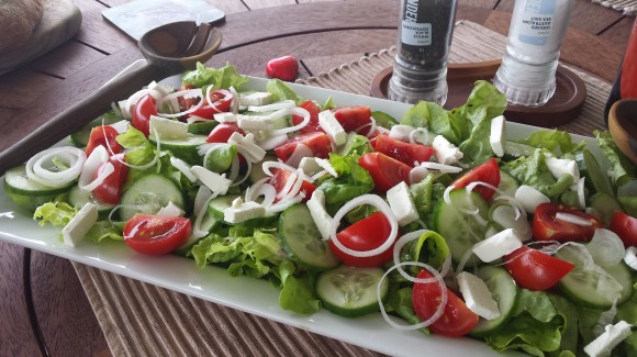 Tomato, lettuce and cucumber salad (Classic TLC Salad)