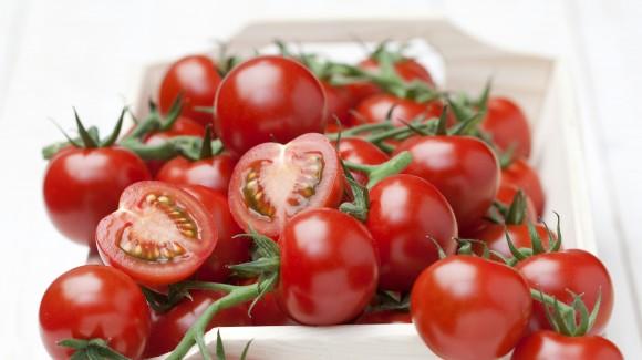 Tomaat koriander en rode ui salade