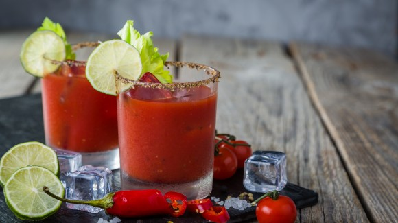 Spicy tomaten cocktail