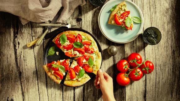 Truss Tomato Ricotta Pizza
