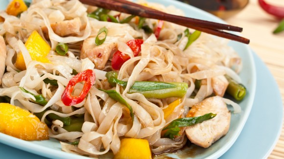 Pittige Vietnamese noodlesalade