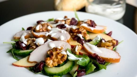 Waldorf salade met een twist