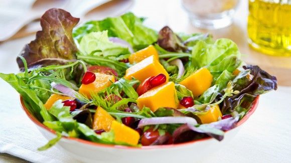 Sweet Potato and Pomegranate Salad